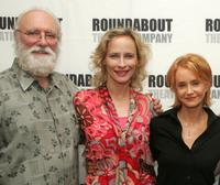 Philip Bosco, Laila Robins and Swoosie Kurtz at the rehearsals of