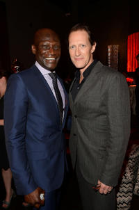 Peter Mensah and Christopher Heyerdahl at the 5th Season California premiere of