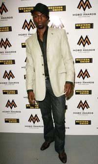 Leon Robinson at the Music of Black Origin Awards.