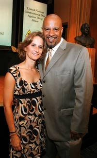 Susan Moran and Scot Anthony Robinson at the 2nd Annual Drug Free Heroes Awards Gala 2009.