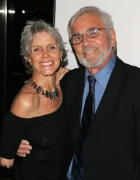 Alex Rocco and wife Shannon Wilcox at the premiere of