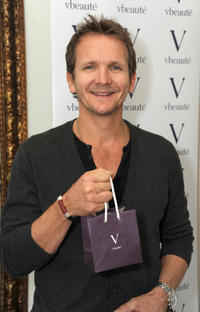 Sebastian Roche at the 2012 DPA Golden Globe Awards Gift Suite in California.