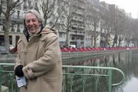 Jean Rochefort at the French caritative association