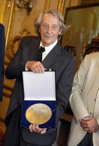 Jean Rochefort at the award ceremony, awarded with the