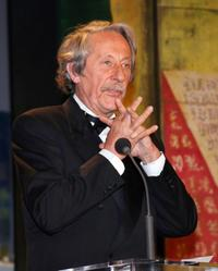 Jean Rochefort at the closing ceremony of the 58th edition of the Cannes International Film Festival.