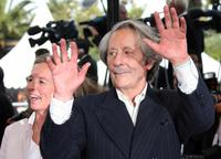Jean Rochefort at the Festival Palace for the premiere of