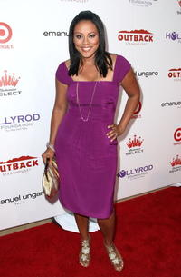 Lela Rochon at the 10th Annual DesignCure Benefit.
