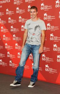Michele Riondino at the 66th Venice Film Festival.