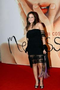 Romina Carrisi at the Italian premiere of