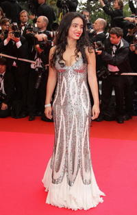 Hafsia Herzi at the premiere of