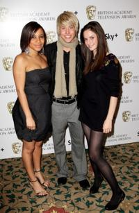 Larissa Wilson, Maxxie Hewer and Kaya Scodelario at the British Academy Television And Craft Awards Nominees Reception.
