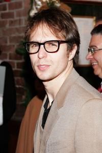 Sam Rockwell at the after party for the opening night of Tom Stoppards