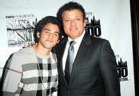 Paul Rodriguez Jr. and Paul Rodriguez at the NY Latino International Film Festival premiere of