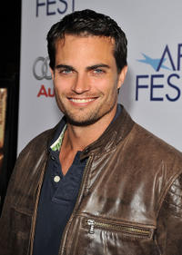 Scott Elrod at the premiere of
