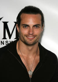 Scott Elrod at the YMI Jeanswear Bi-Annual Fashion Show in California.