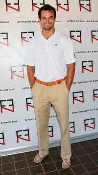Scott Elrod at the AFTRA's Inaugural Frank Nelson Fund Celebrity Golf Classic in California.