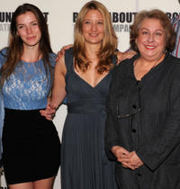 Betty Gilpin, Heidi Schreck and Jayne Houyshell at the photocall of