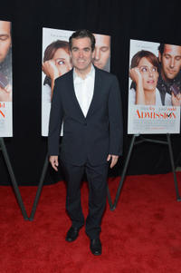 Brian d'Arcy James at the New York premiere of