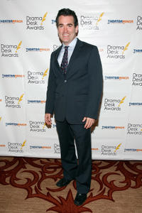 Brian d'Arcy James at the 57th Annual Drama Desk Awards.