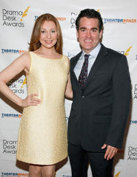 Donna Murphy and Brian d'Arcy James at the 57th Annual Drama Desk Awards.