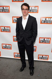 Brian d'Arcy James at the Broadway opening night of