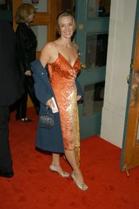 Julia Murney at the opening night of