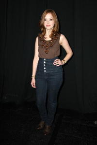 Dreama Walker at the Milly By Michelle Smith Fall 2009 fashion show during the Mercedes-Benz Fashion Week.