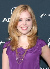 Dreama Walker at the 14th Annual Gen Art Film Festival Launch Party.