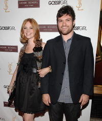 Dreama Walker and Josh Ruben at the Henri Bendel and YSL Beaute celebration of