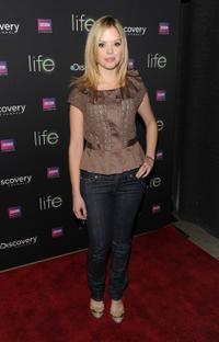 Dreama Walker at the premiere of