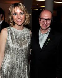 Shana Feste and Mark Urman at the after party of the premiere of