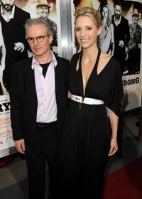 Composer Michael Brook and Shana Feste at the screening of