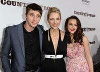 Garrett Hedlund, Shana Feste and Leighton Meester at the screening of
