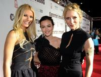 Gwyneth Paltrow, Leighton Meester and Shana Feste at the premiere of