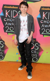 Noah Ringer at Nickelodeon Kids Choice Awards