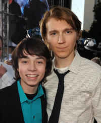 Noah Ringer and Paul Dano at the California premiere of