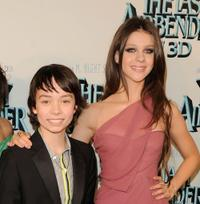 Noah Ringer and Nicola Peltz at the New York premiere of
