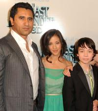 Cliff Curtis, Seychelle Gabriel and Noah Ringer at the New York premiere of