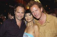 Clayton Rohner, Bai Ling and Guest at the Julian Lennon's birthday party.