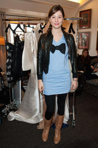 Alice Pol at the Espace Glamour Chic Cesars Gift Lounge in Paris.