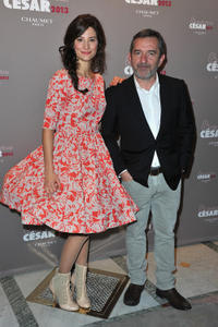 Alice Pol and Pascal Chaumeil at the Chaumet's Cocktail Party for Cesar's Revelations 2013.