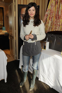 Alice Pol at the Day 1 of the Espace Glamour Chic Cesars Gift Lounge in Paris.