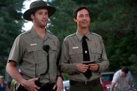 T.J. Miller as Ranger Jones and Tom Cavanagh as Ranger Smith in
