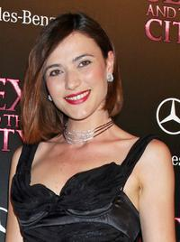 Anna Foglietta at the Italian premiere of
