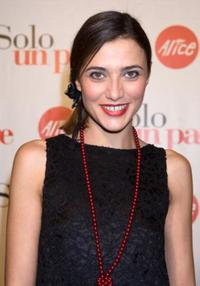 Anna Foglietta at the premiere of