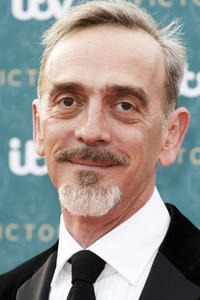 Adrian Schiller at the premiere screening of ITV's