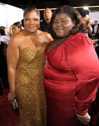 Mo'Nique and Gabourey Sidibe at the screening of