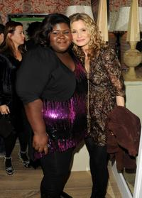 Gabourey Sidibe and Kyra Sedgwick at the after party of the screening of