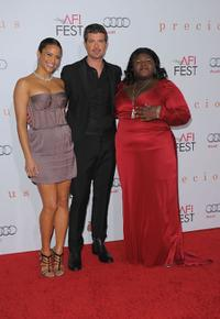 Paula Patton, Robin Thicke and Gabourey Sidibe at the AFI FEST 2009.