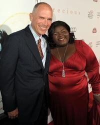 Joe Drake and Gabourey Sidibe at the AFI FEST 2009.